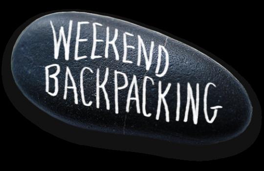 weekend backpacking
