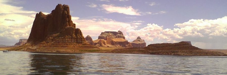 Boat Camping on Lake Powell