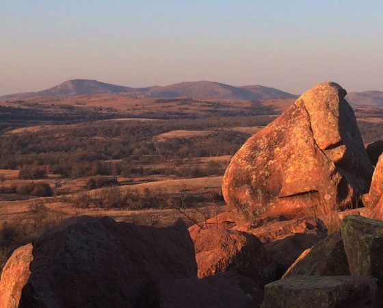 Bouldering at Wichita Mountains